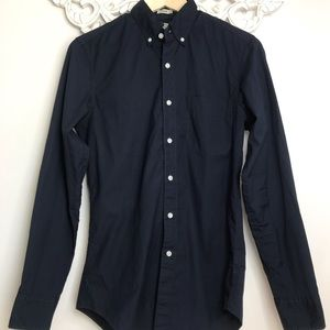 J.Crew Womens Slim Fit Long Sleeve Button Down XS